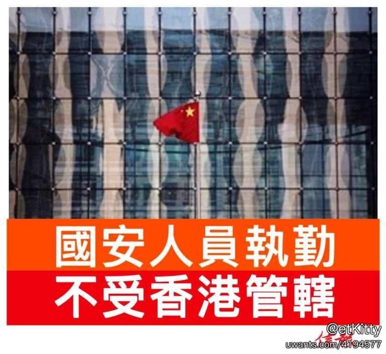 2020 0701公署人員在港執勤期間不受香港管轄 image by hkej.jpg